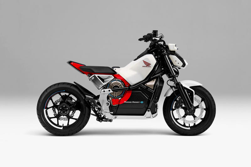 Honda Riding Assist e Concept Motorcycle 2017 Tokyo Motor Show Electric Bike