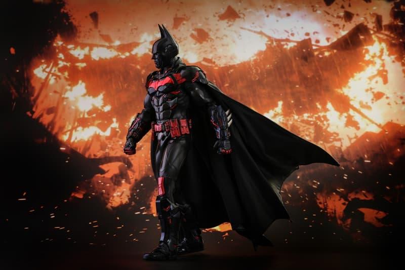 Hot Toys Batman Futura Knight Version Beyond Arkham Knight Justice League Exclusive