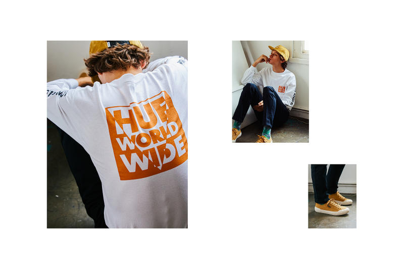 HUF Holiday 2017 Lookbook fashion collection clothing streetwear menswear sneakers hoodie t-shirt tee jacket coat outerwar