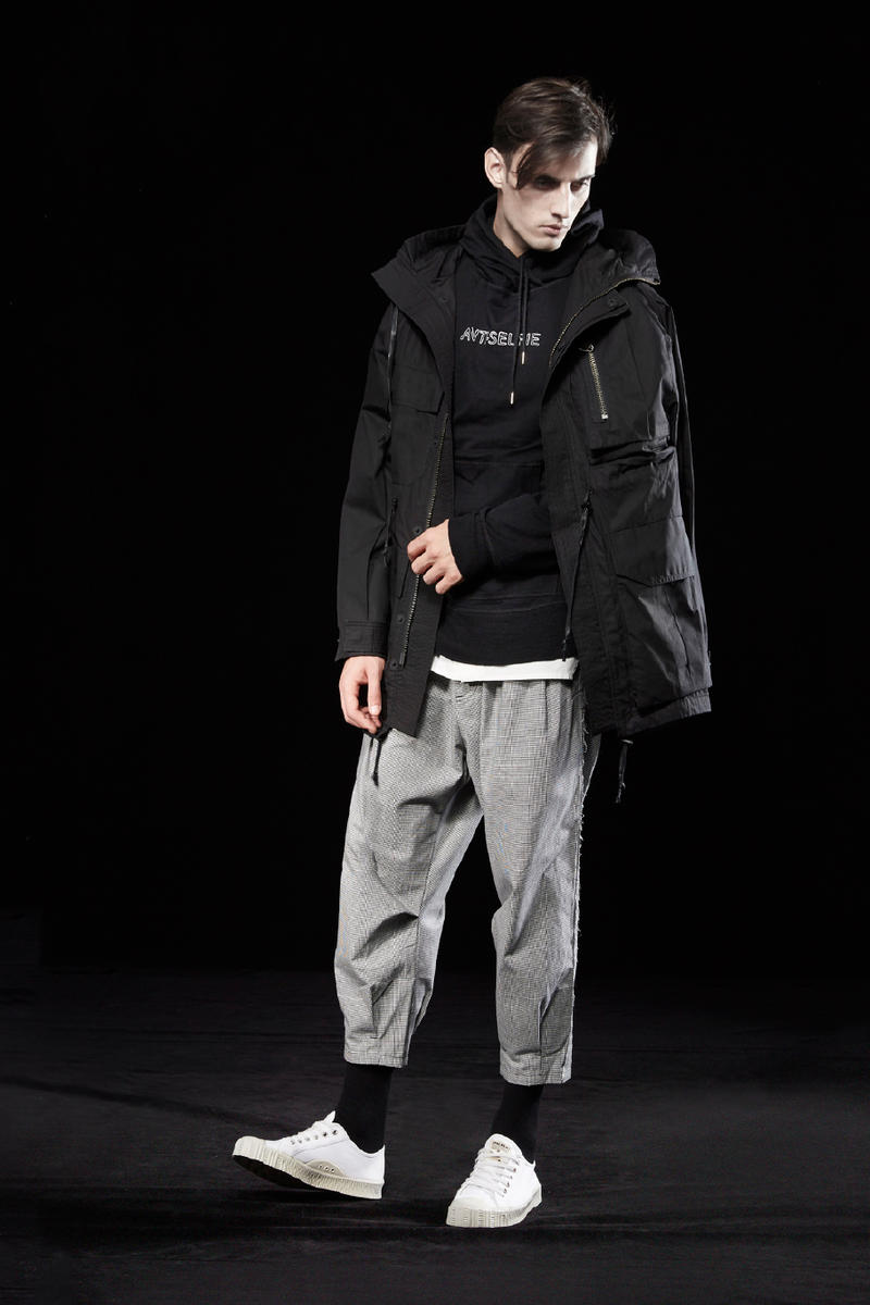Indice Studio 2018 Spring Summer Lookbook Techwear Fashion Street Oversized Jackets Hoodies Shirts Pants