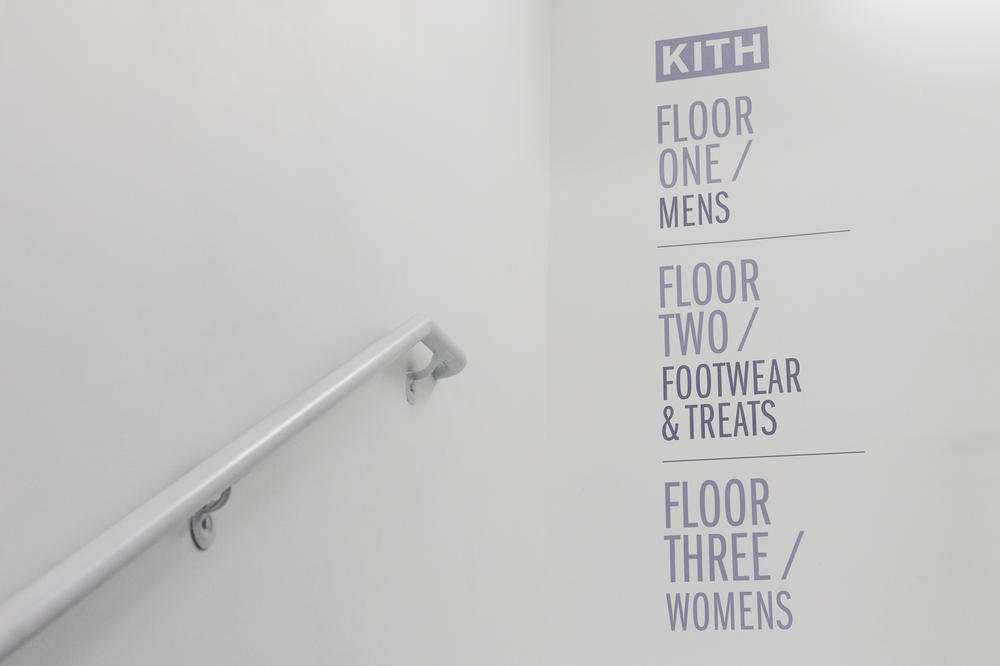 Inside KITH's New Soho NYC Shop