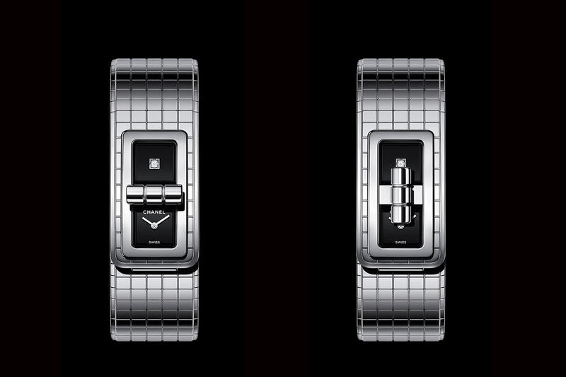 Chanel CODE COCO Diamond Encrusted Stainless Steel Watch