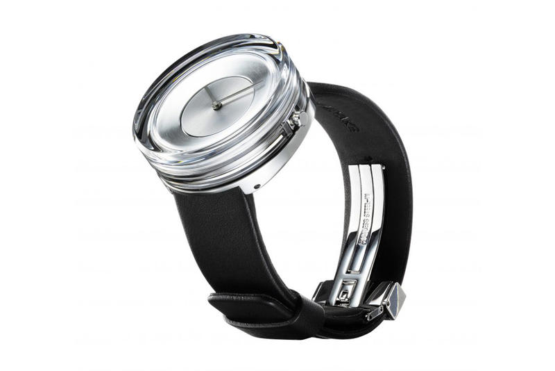 Issey Miyake Tokujin Yoshioka Glass Watch Collaboration