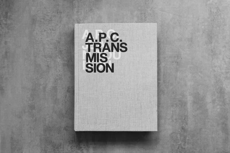 Jean Touitou A.P.C. Transmission Book