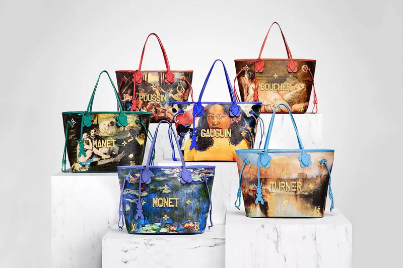 Jeff Koons Louis Vuitton Masters Collection II Luxury Fashion Accessories Bags