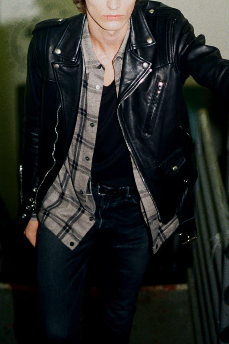 John Elliott Blackmeans Leather Jacket Fall Winter 2017