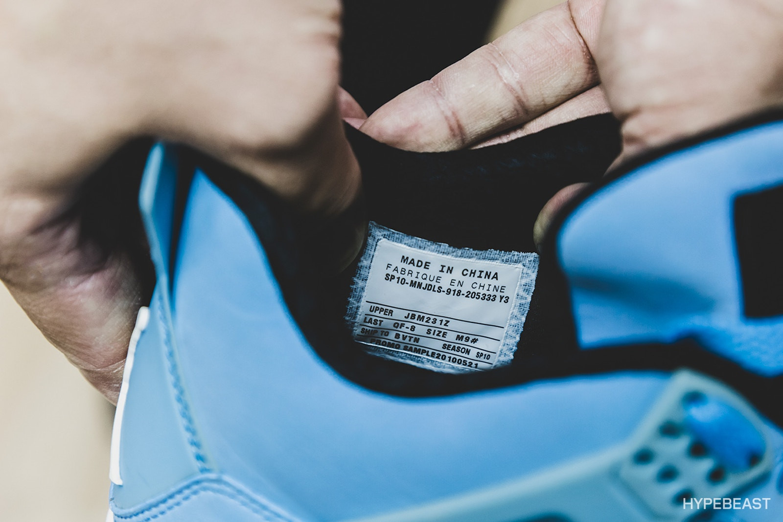 Jordan Brand FLIGHT23 HONG KONG Look Inside Sneakers Shoes Footwear Nike