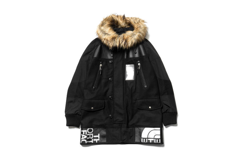 Junya Watanabe MAN The North Face Carhartt Levis Collaborations Fall Winter 2017 Jackets Coats Jeans Patchwork Denim haven purchase release information buy