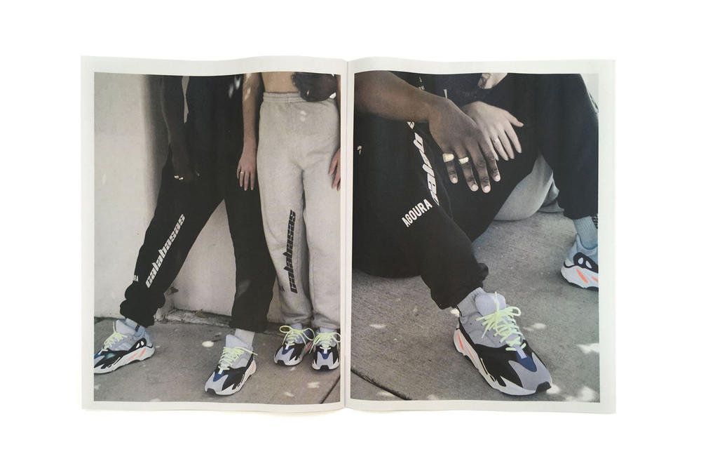 Kanye West Calabasas Collection 2 Zine adidas YEEZY Wave Runner 700 Apparel Clothing Streetwear Fashion