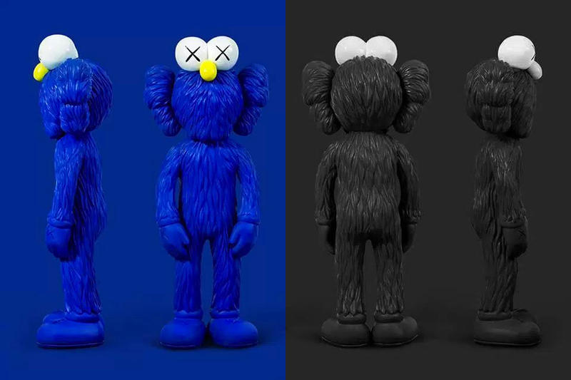 KAWS Blue BFF Companion MoMA Design Store New York City 2017 Release Catalog Instagram