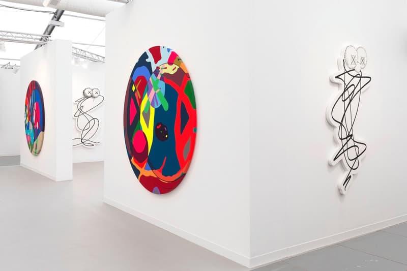 KAWS Galerie Perrotin Frieze Art Fair London Solo Exhibit Artwork