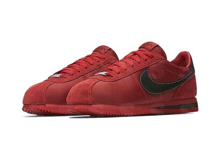 Kendrick Lamar Nike Cortez Red