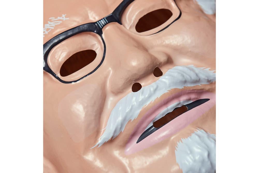 KFC Colonel Harland Sanders Halloween Costume Mask Bib 2017