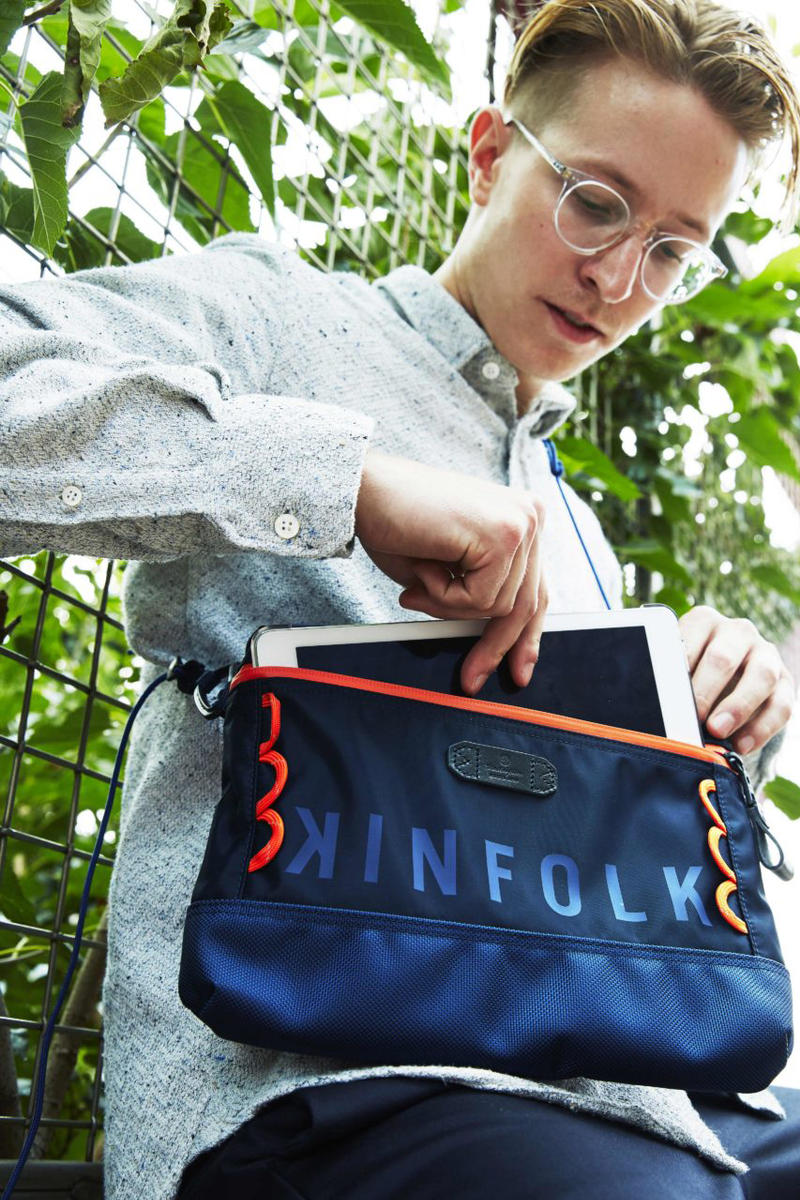Kinfolk master piece 2017 Fall Capsule Collection Biker Bags Commuter