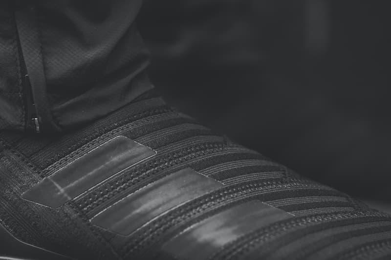 KITH adidas Nemeziz Tango 17 UltraBOOST Closer Look Footwear Black Soccer Release Date Info Drops November 3 2017