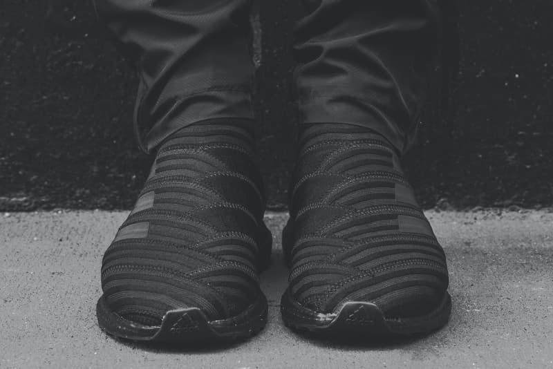 fddc69755b04 KITH adidas Nemeziz Tango 17 UltraBOOST Closer Look Footwear Black Soccer  Release Date Info Drops November