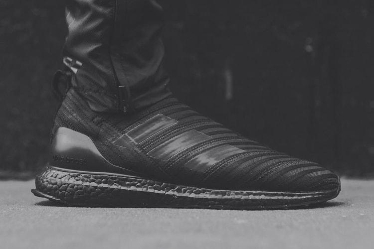 a99754eeaaf0 Ronnie Fieg Teases an All-Black adidas Nemeziz Tango 17+ UltraBOOST
