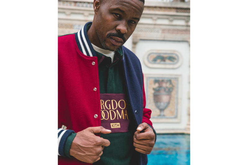 KITH Bergdorf Goodman Ronnie Fieg Wood Harris Instagram Teaser Post 2017 October 23