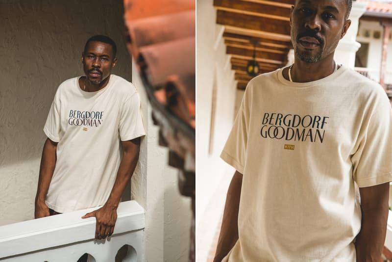 KITH Bergdorf Goodman Fall 2017 Wood Harris Fashion Lookbooks Ronnie Fieg Release Info Date Drops October 27