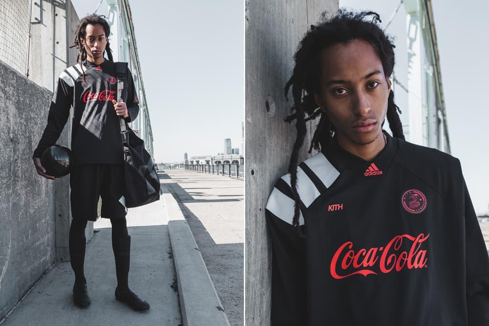 KITH Cobras adidas Football Soccer Nemeziz Tango 17.1 Season Two Ronnie Fieg Apparel Coca-Cola Los Angeles Fred Segal EA Sports FIFA 18