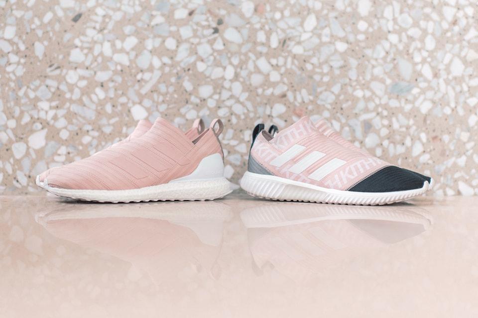 3243a1fce07a KITH Flamingos x adidas Soccer Season 2 Footwear