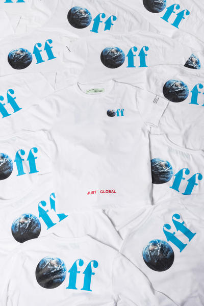 KITH Off White 2017 Just Global Capsule Collection Just Us fashion hoodie crewneck t-shirt black grey white
