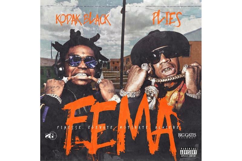 Kodak Black & Plies 'F E M A ' Mixtape Stream | HYPEBEAST