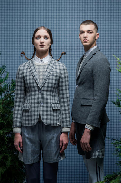 KOE Thom Browne Fall Winter 2017 Collection Collaboration Grey Gray October 19 2017 Release Info Date Details Drops