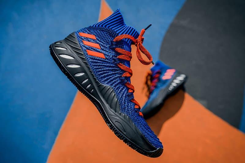 Kristaps Porizingis adidas Crazy Explosive PE Launch Party Packer Shoes New York Knicks