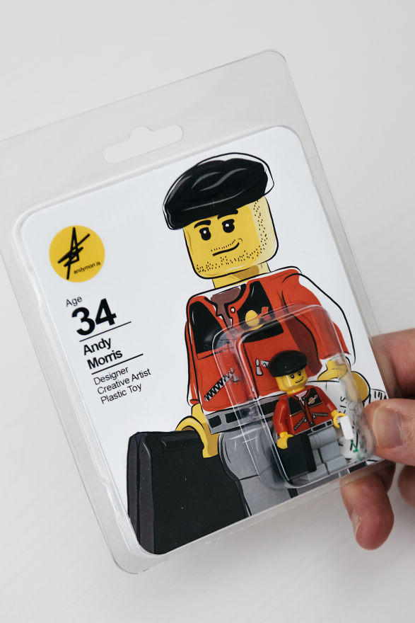 Andy Morris LEGO Résumé Miniature Figure Job Employer Employee Career Art Artist Design
