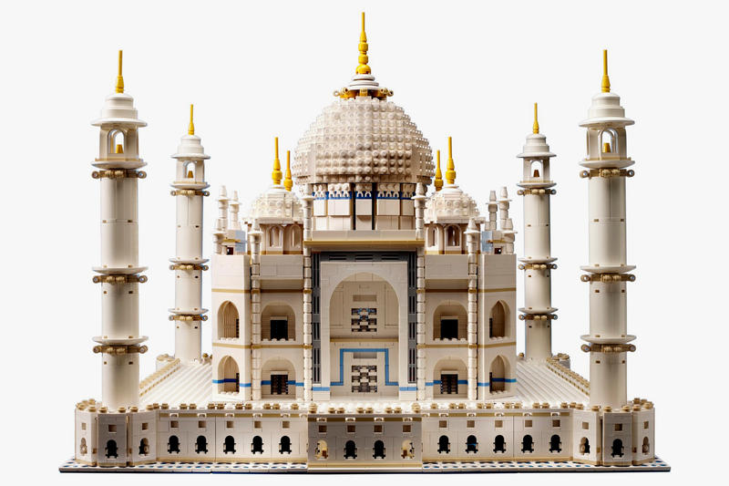 LEGO Taj Mahal Rerelease Brick Set Creator Export India Bricks Architecture