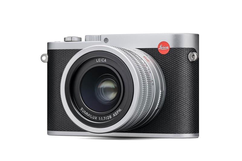 Leica Q Camera Model Black Silver Colorway
