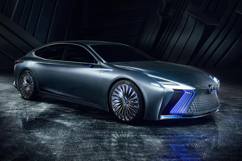 Lexus LS+ Concept Car Vehicle Sedan