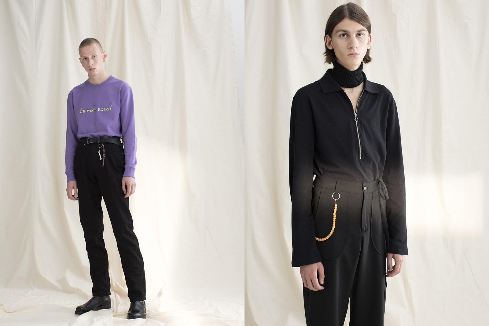 L'HOMME ROUGE interview brand introduction Sweden Scandinavia minimalism