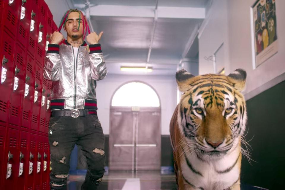 c9ecd919a Lil Pump Brings a Tiger to School in