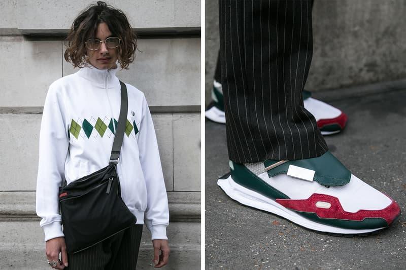 London Street Style Fall/Winter 2017 Autumn/Winter Balenciaga Supreme Off-White comme des garçons Palace Raf Simons Stussy Patta