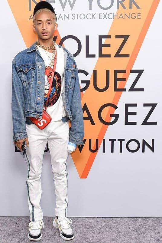 Jaden Smith Louis Vuitton 2018 Spring Summer Sneaker Dad Shoe Chunky Sporty Volez Voguez Voyagez