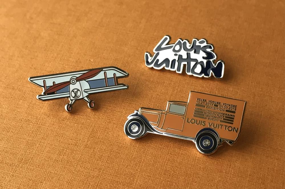 Louis Vuitton Pintrill Volez Voguez Voyagez Exhibition Pin Collaboration New York City NYC