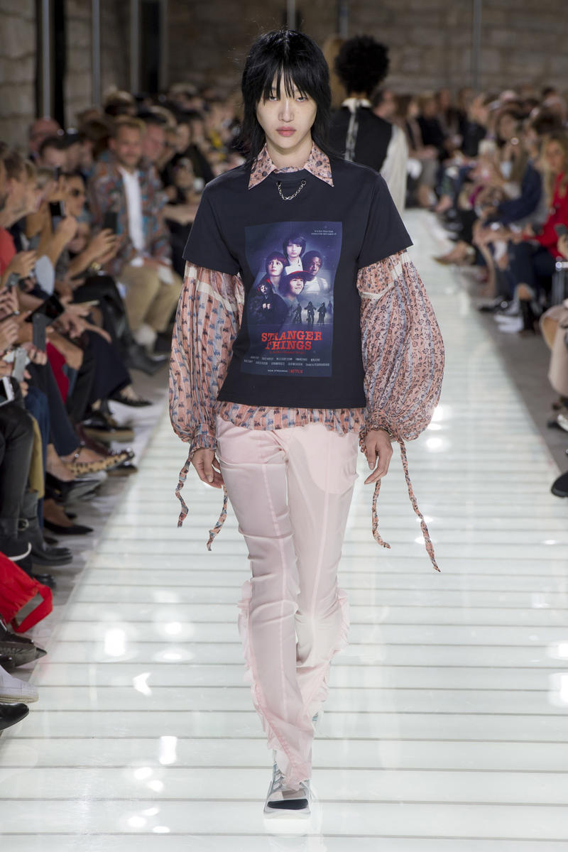 Louis Vuitton Spring 2018 Paris Fashion Week Runway Stranger Things