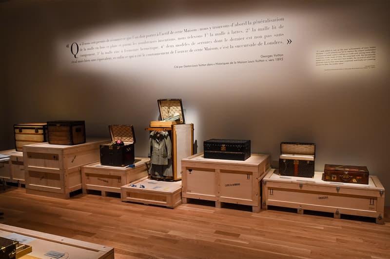 "Louis Vuitton ""Volez, Voguez, Voyagez"" Exhibition NYC"