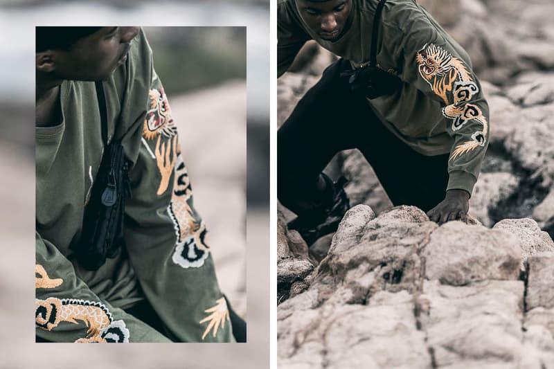 Fall/Winter Autumn/Winter 2017 Maharishi HBX Lookbook Editorial