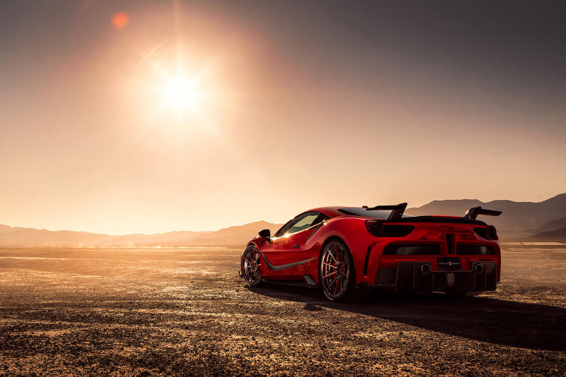 Mansory Ferrari 488 Modified Sircasua Package 2017 GTB Creative Bespoke carbon fiber car supercar hypercar 4XX