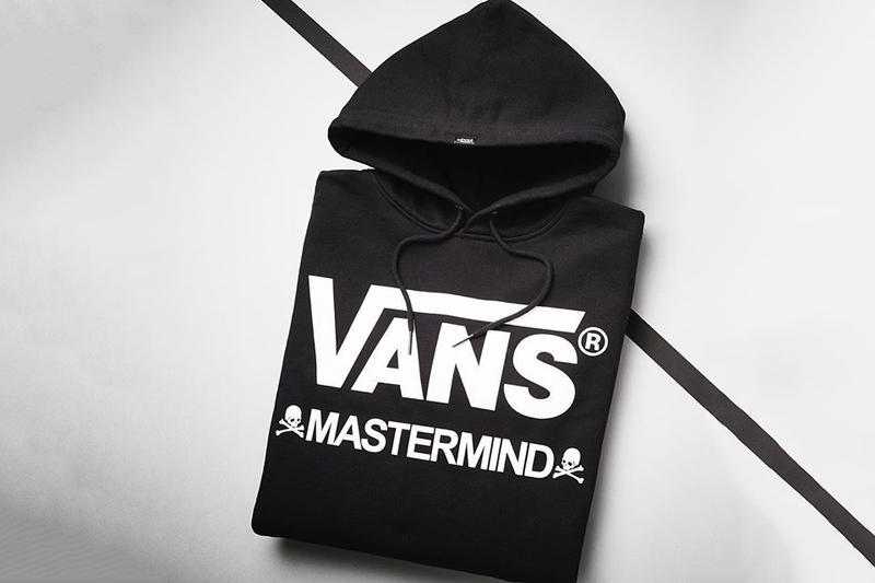 mastermind Japan Vans Collaboration collection 2017 Fall/Winter Mountain Edition sneakers hoodie trucker hat skull
