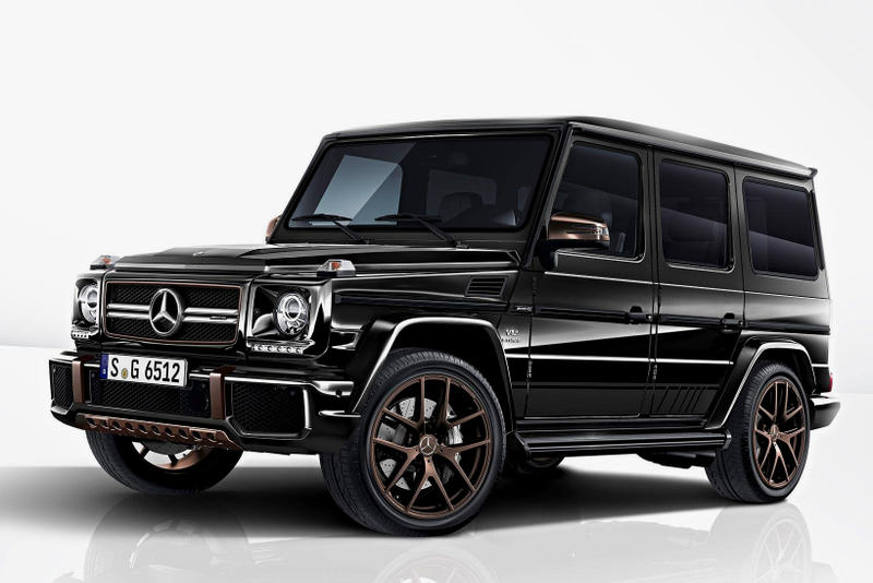 Mercedes Benz AMG G Class G65 Final Edition Black Limited Release Info Details