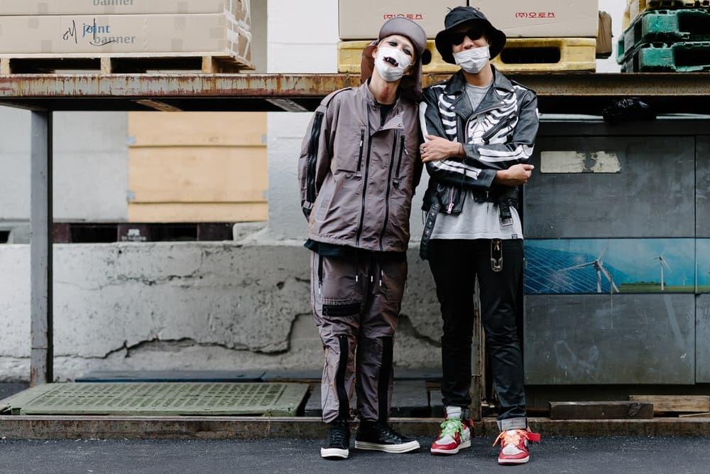 Streetsnaps Bajowoo 99%IS Shane Gonzales Midnight Studios Street Style Seoul Korea