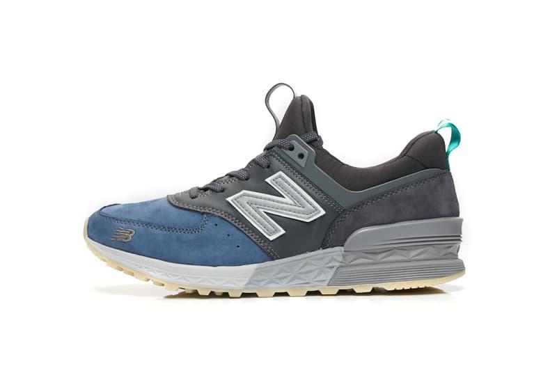 mita sneakers New Balance 574 Black Blue White