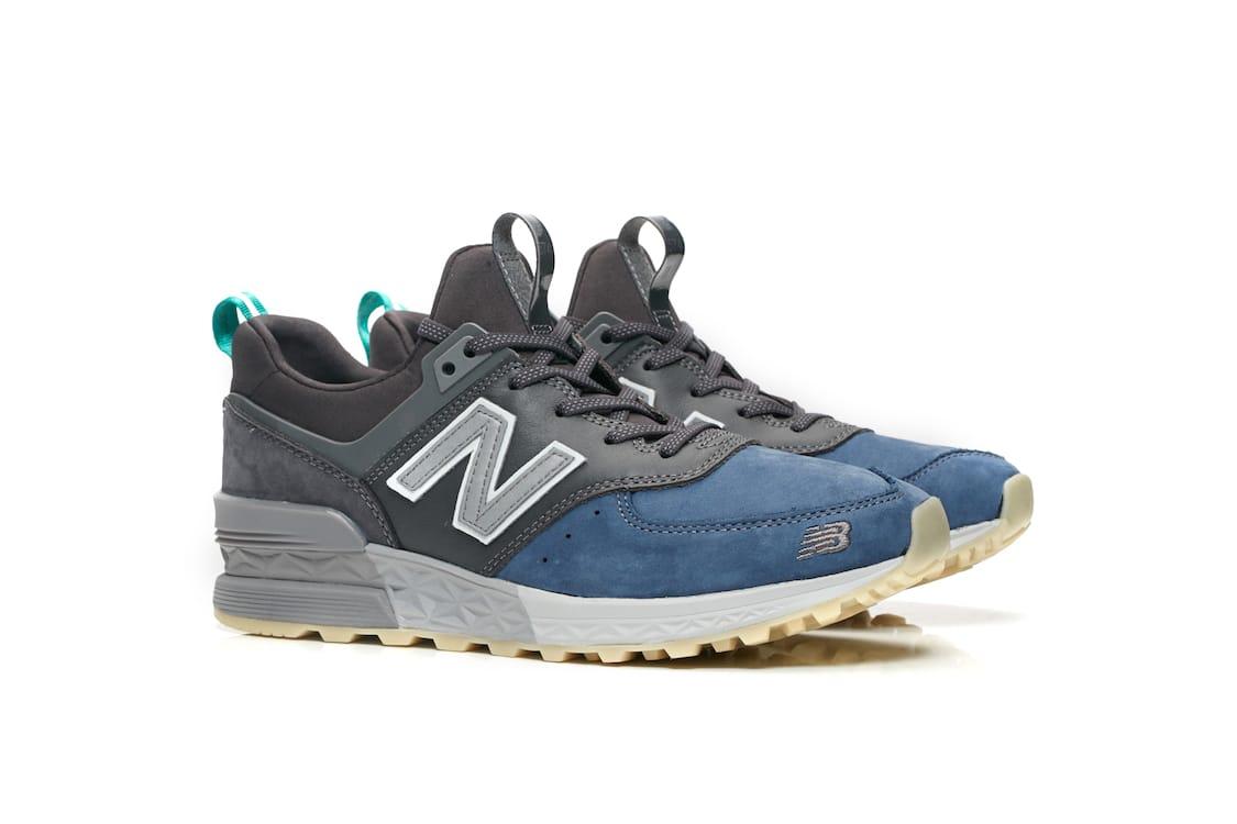 mita sneakers x New Balance 574 Black