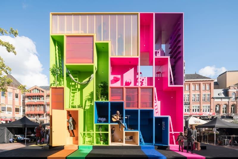 MVRDV Wego Colorful Tetris Hotel Dutch Design Week 2017