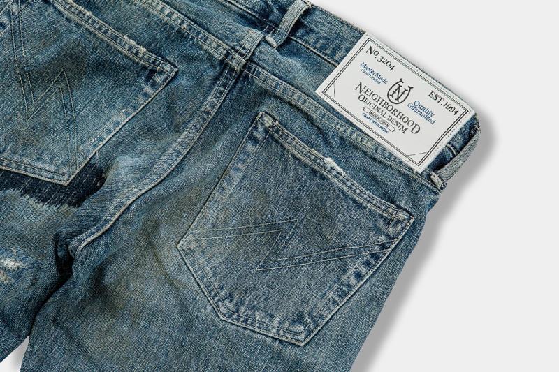 NEIGHBORHOOD Shinsuke Takizawa Denim Jeans Fashion Apparel Clothing Release Info Date Drops October 21