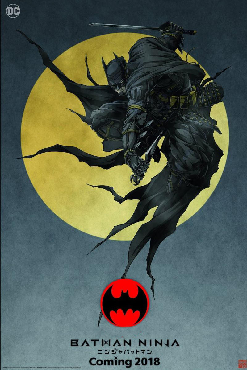 Warner Brothers DC Batman Ninja Comic Con New York